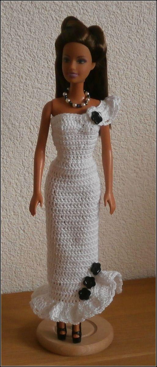 Barbie jurkje - katoen