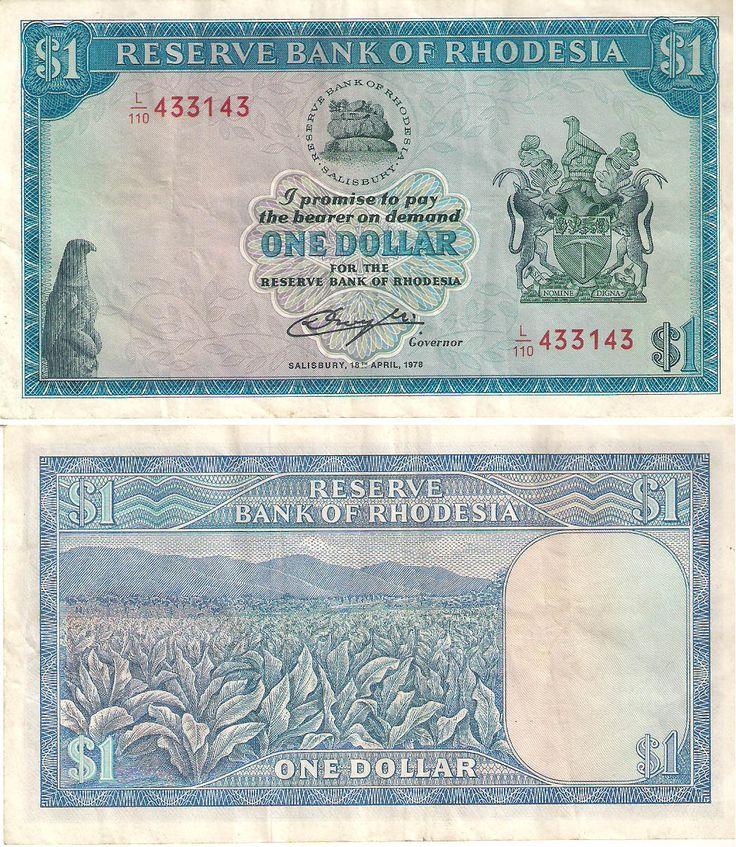 1 Dólar Rodesiano