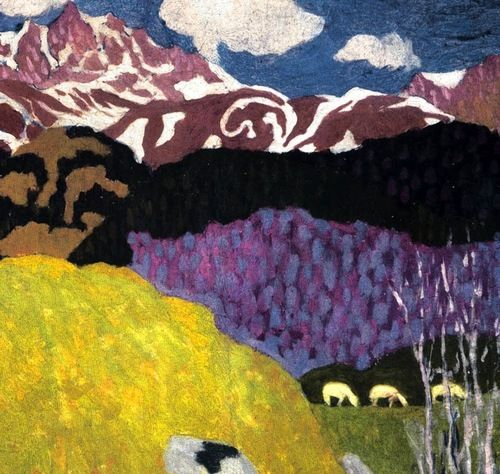 Giovanni Giacometti | Giovanni Giacometti 1905 father of Alberto via A Long Time Alone