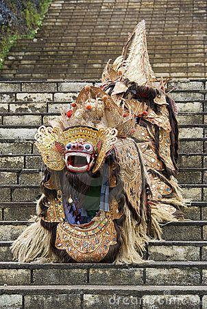 Barong Lion, Bali, Indonesia