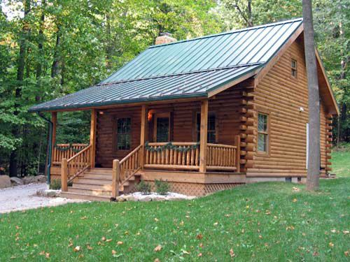 ideas about Small Log Homes on Pinterest   Log Homes  Log    Small Story Cabins   David Wright  Architect
