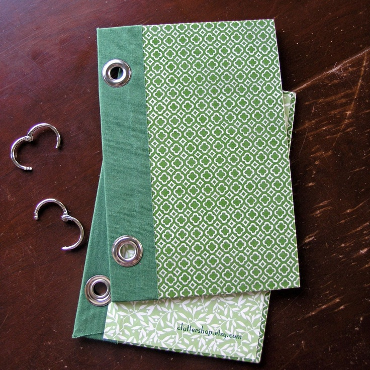 2 ring binder notebook journal by cluttershop on Etsy (an upcycled Reader's Digest book)