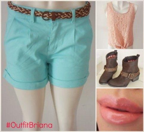 #OutfitBriana lo #INN para esta #temporada #primavera es usar tu short con botas vaqueras lucirás #trendy y #fashion