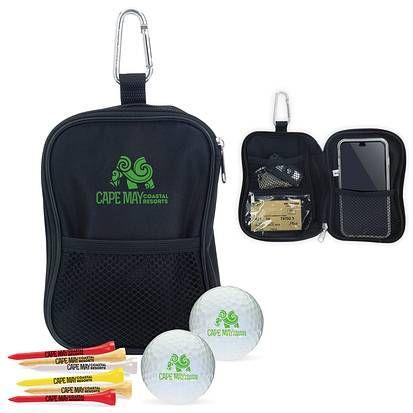 62312 - Valuables Pouch Golf Kit - Callaway® Warbird 2.0. (call for other  golf ball options). Exterior   interior mesh pockets d9736b806041b