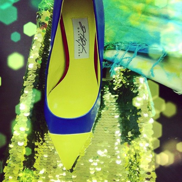 Spring 2013 is looking electric! #DavidDixon shoes available exclusively @townshoes. Photo by townshoes.