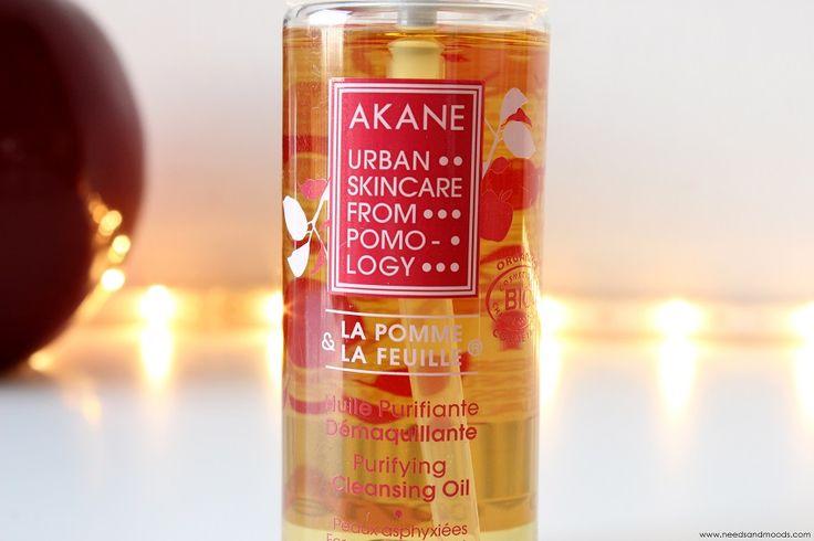 Huile démaquillante purifiante et bio à la pomme - Akane.  Retrouvez ma revue sur le blog : http://www.needsandmoods.com/huile-demaquillante-akane/  #bio #ecocert #huile #soin #soins #skincare #beauty #beauté #apple #apples #pomme #pommes #akane #pommier #birchbox #démaquiller #démaquillant @birchboxfr