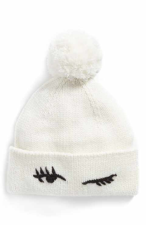 2f6d146731b kate spade new york winking beanie with pom