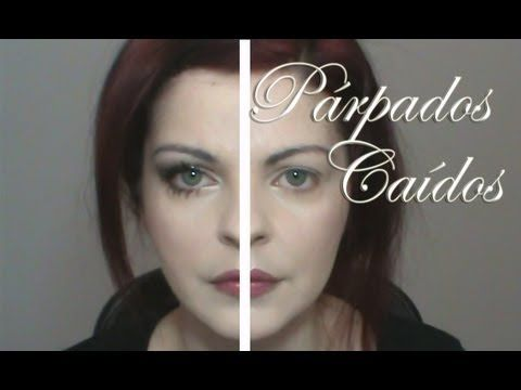 Párpados caídos ?? El truco para maquillarlos de forma natural. - YouTube