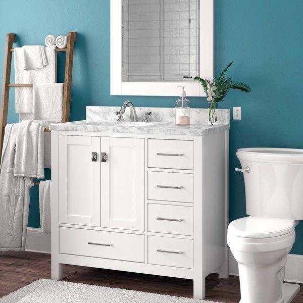 Brayden Studio Werth 42 Single Bathroom Vanity Set With Mirror