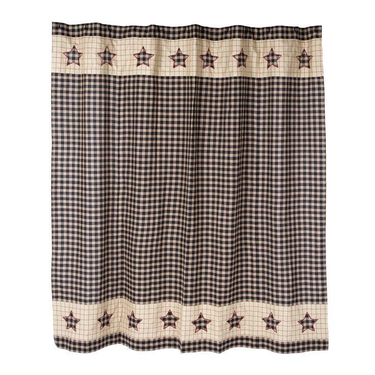 Bingham Star Shower Curtain 2019