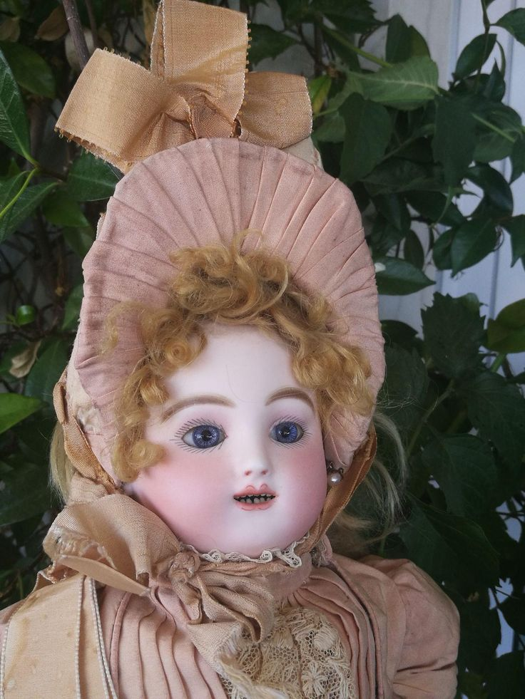 All original beautiful 1880's Bebe Gigoteur Steiner ( Kicking Steiner) from guermantes on Ruby Lane