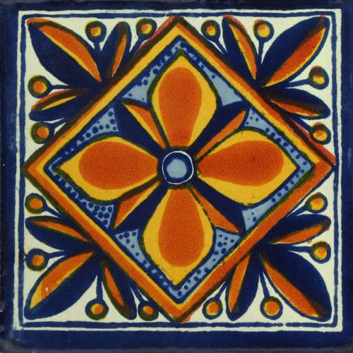 Traditional Mexican Tile Jessenia Want Tiles Tile
