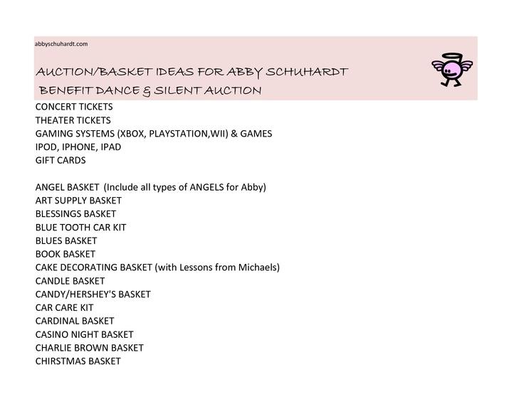 102 best Church silent auction images on Pinterest Raffle - sample silent auction bid sheet