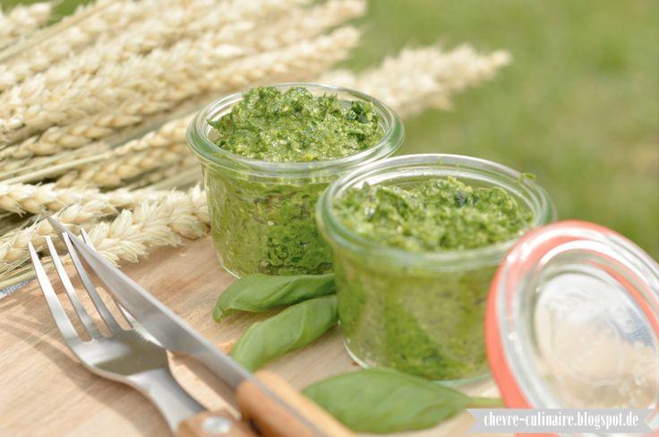 Chèvre culinaire: [Rezept] Die Sache mit den saisonalen Obst, Gemüsen & Kräutern - kurzum: Bärlauchpesto
