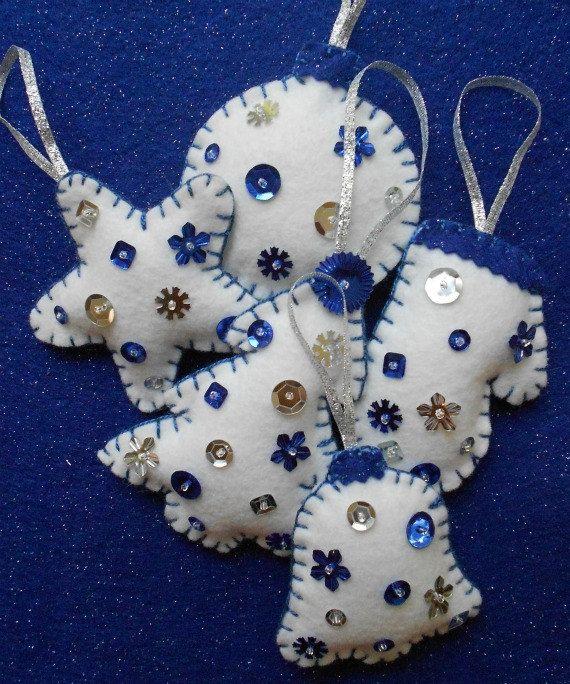 Felt ornament set