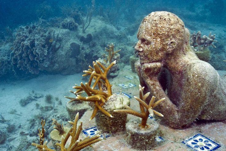 Cancun Underwater Museum, Mexico