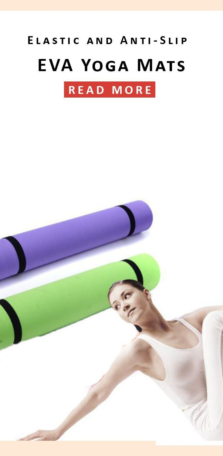 Elastic and Anti-Slip EVA Yoga Mats for Fitness and Weight Loose  Here we are presenting amazing EVA Yoga Mats; it would be the best choice for you! You can get it in different range of colors specifically in the pink, Blue, Green, Violet, Purple, Dark green, and orange.  #yoga #yogamats #mats