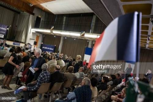 07-13 Supporters of the French National Front (FN) political... #thuir: 07-13 Supporters of the French National Front (FN)… #thuir