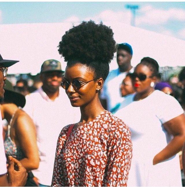 @queen_taelor || 4c hair. kinky hair. afro puff. high puff. pineapple hairstyle. natural hair. hairstyles for afro hair. hairstyles for kinky hair. afro hair. beautiful hair.