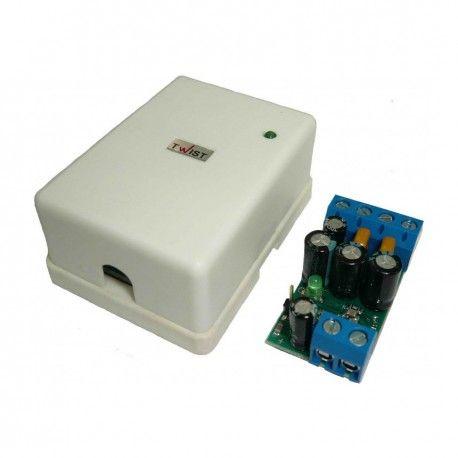 Профессиональный приемник-передатчик для передачи классического аналогового видеосигнала по витой паре на большие расстояния. Тип: активный. Подключение: клеммы. Стандарт видеосигнала: аналоговый (D1/960H). Длина линии видеосигнала: до 500 метров. Встроенная базовая электростатическая защита.