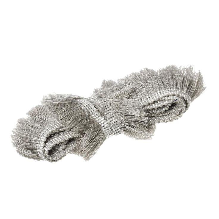 """DoreenBeads 25mm (1 """") vestido de Franja Borla algodão Aparamento Do Laço de Costura & Tecido casa Guarnição Abastecimento Fino 9 Cores, 5 Metros"""