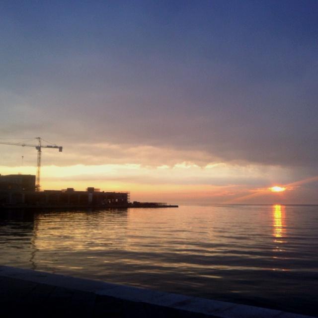 #trieste, #sunset
