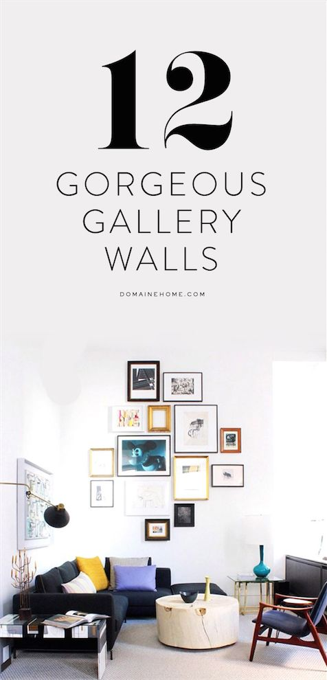 Gallery wall inspiration, right this way!