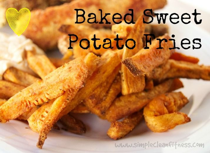 Baked Sweet Potato Fries - 21 Day Fix Recipes - Clean Eating Recipes - Healthy Recipes - Dinner - Side Sides - Snacks - 21 Day Fix Meals - www.simplecleanfitness.com