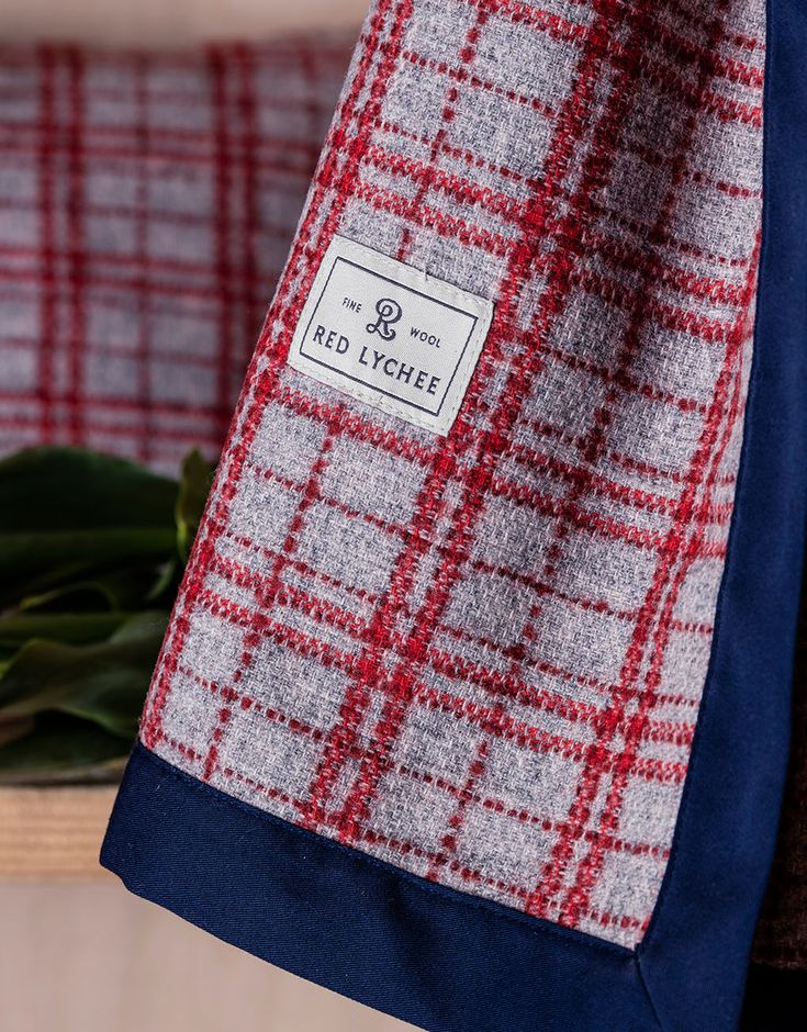 Gramercy Wool Blanket. The quality of fabrics and the attention to every detail, make it a distinguish part of every room.
