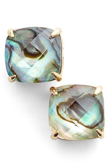 kate spade new york square stud earrings | Nordstrom