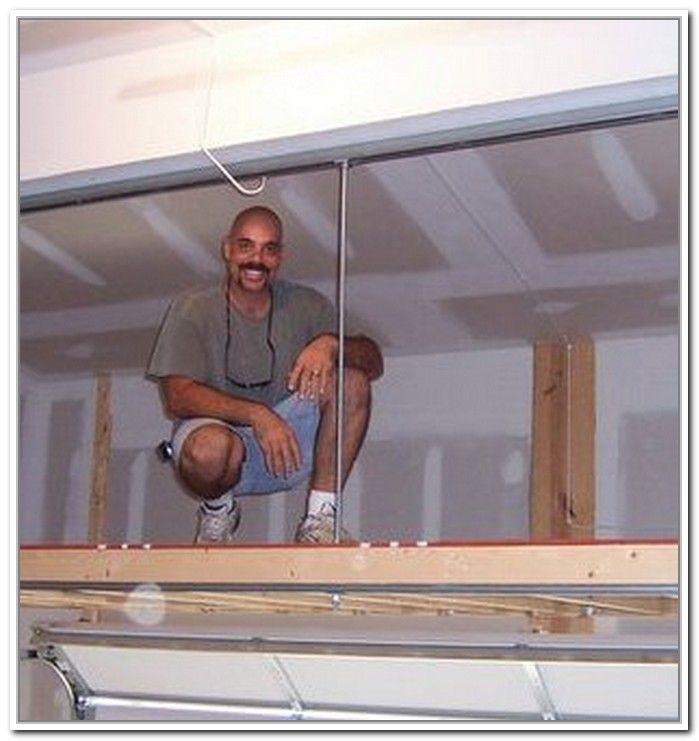 1000 images about mezzanine floor on pinterest storage for Diy garage storage loft