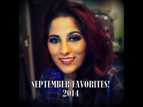 Check out my september favorites! Please be sure to like the video if you'd like to see how I got this super fun and colorful look! Don't forget to subscribe! :)