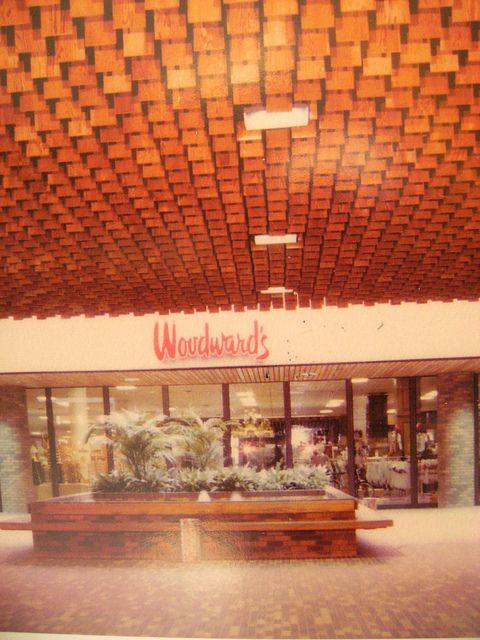 Woodwards, Southgate Mall, Edmonton, AB, 1982.