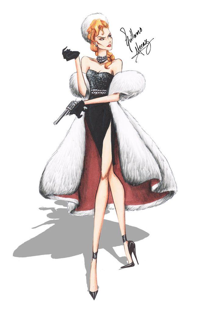 Helga Sinclair (Atlantis) in Haute Couture by Guillermo Meraz by frozen-winter-prince.deviantart.com on @deviantART