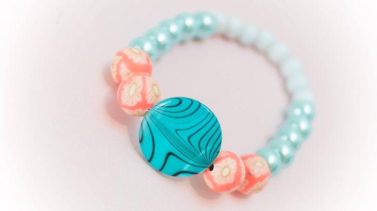 Excited to share the latest addition to my #etsy shop: Bracelet 5 http://etsy.me/2CtB0ck #jewelry #bracelet #blue #orange #no #women #womanbracelet #handmadebracelet #fashionbracelet