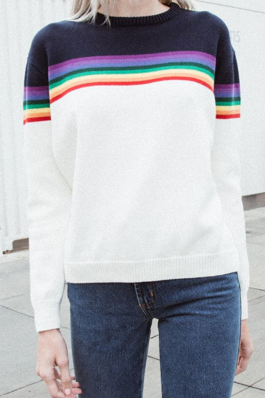 5b10bb2ce Bronx Rainbow Sweater