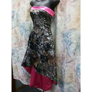 I Love This For A Bridesmaid Dress Camo And Hot Pink