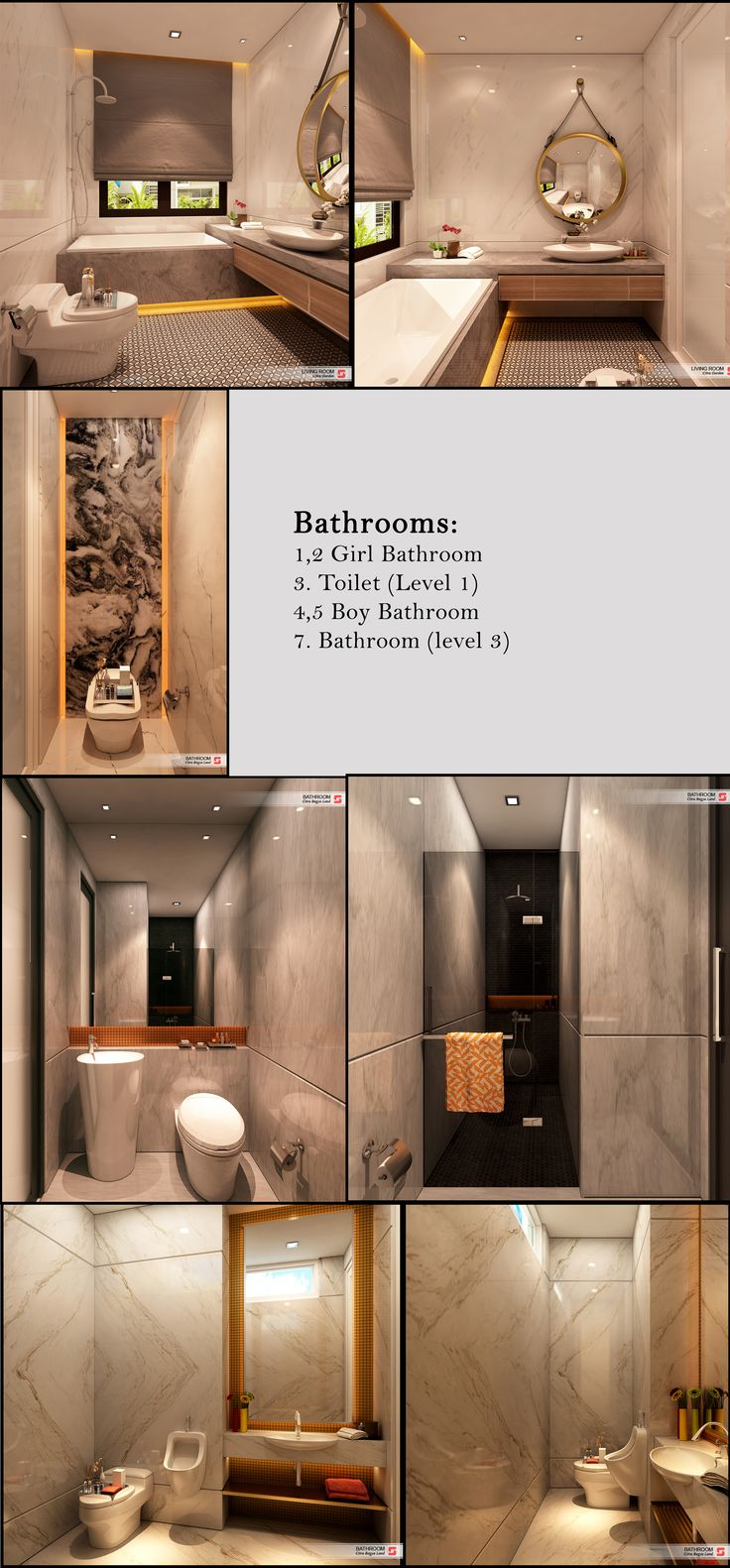 Bathrooms  J House Residential Medan, Sumatera Utara Indonesia