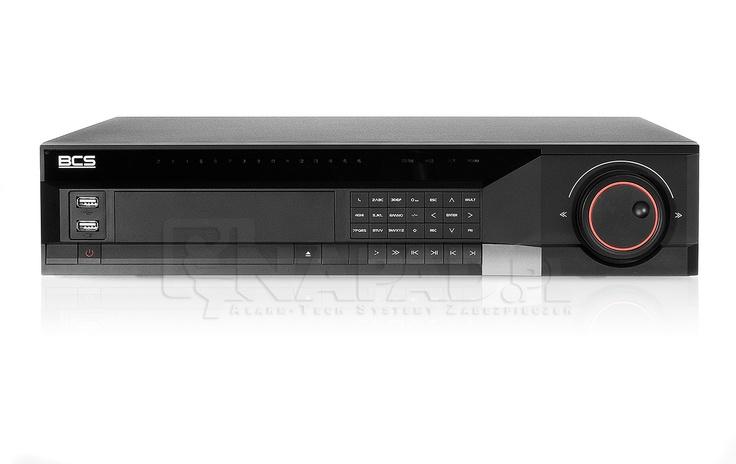 Rejestrator cyfrowy BCS DVR3208M 32-kanałowy. Całkowita prędkość zapisy: CIF - 800kl/s 4CIF - 200kl/s.  Videorejestrator DVR3208 to wydajne urządzenie do obsługi maksymalnie 32 kamer do monitoringu. Rejestrator zapisuje obraz z kamer przy użyciu kompresji danych metodą H264 i oferuje dostęp do nagrań zarówno lokalnie z poziomu rejestratora, jak i zdalnie przy wykorzystaniu rządzeń mobilnych. Rejestrator gwarantuje precyzję i komfort pracy z kamerami. Zobacz podobne rejestratory…