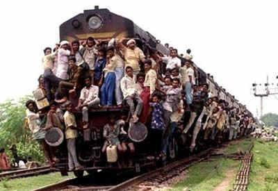most crowded train ever