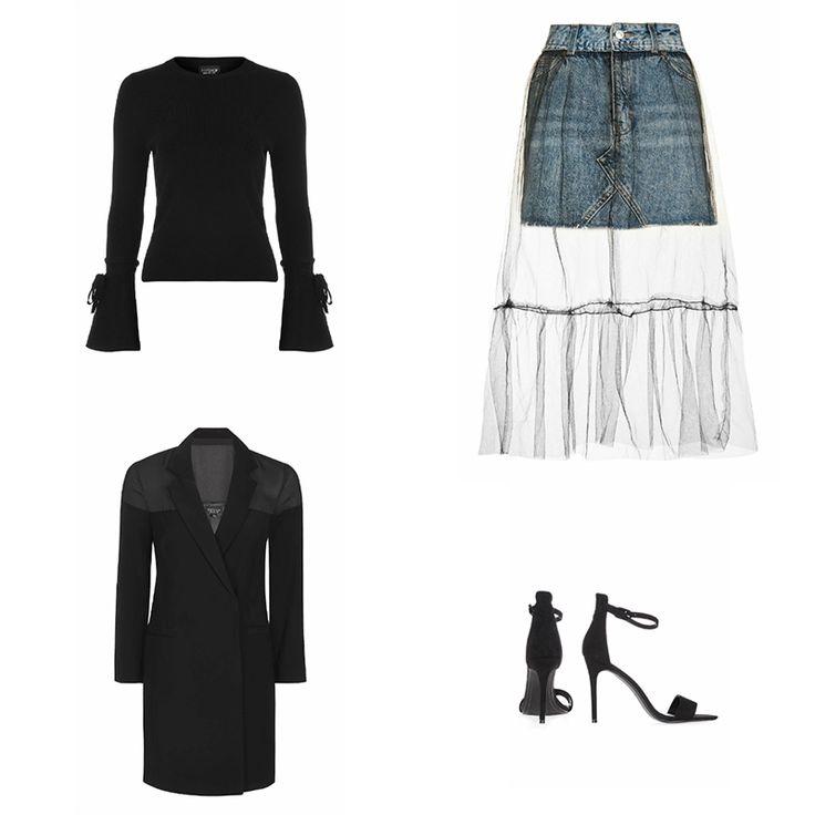 Inspiration Look : Jupe en Jean - Casual Denim Skirt