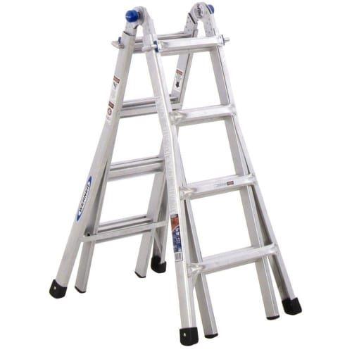 Best Extension Ladder: Werner MT-13 300-Pound Duty Rating Telescoping Multi-Ladder