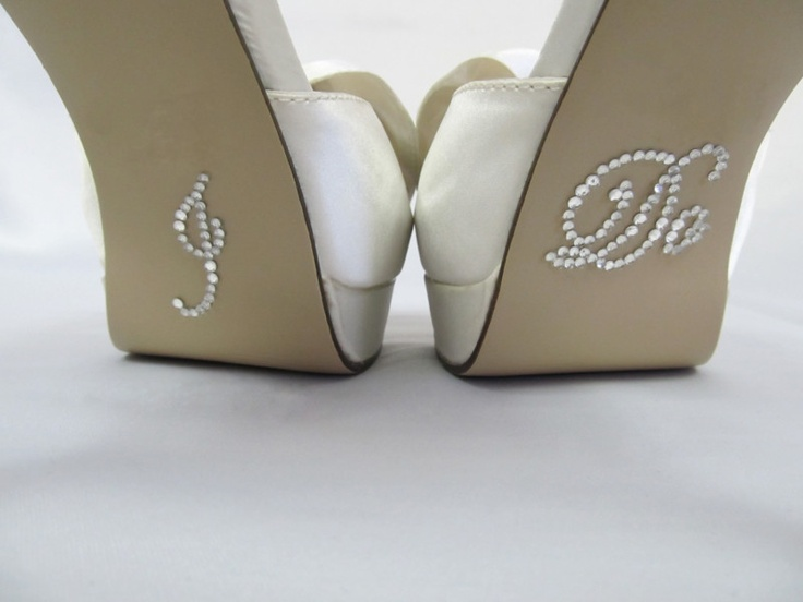 Details About I Do Shoe Stickers For Bridal Shoes Rhinestone