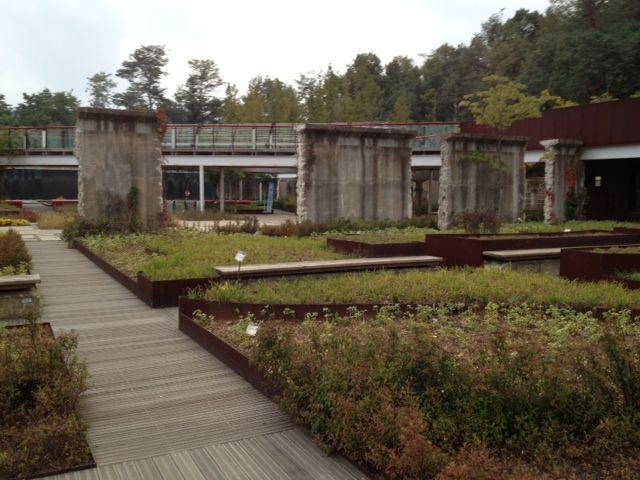 서서울 호수공원 몬드리안 정원
