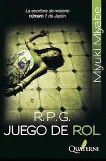 """R.P.G. Juego de Rol es una novela policiaca de la mano de """"la escritora de misterio número 1 en Japón"""", que gira en torno a la aparición de dos cadáveres con tres días de diferencia y aparentemente sin relación entre ellos."""