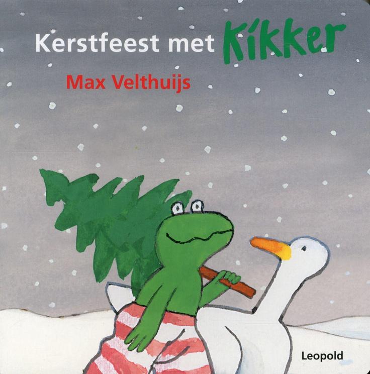 Kerstfeest met Kikker - Max Velthuijs