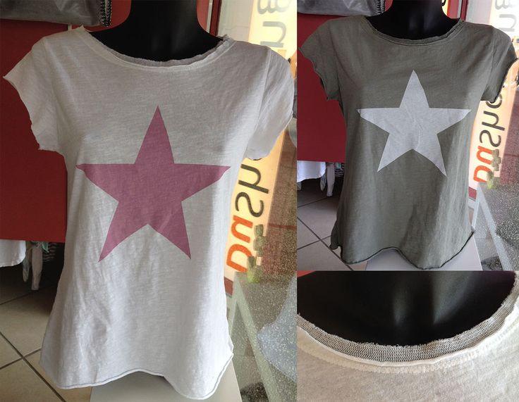 Damen Kurzarm T-Shirt T-Shirts Peace Stern USA Flagge Whatsapp LA New York XS-M