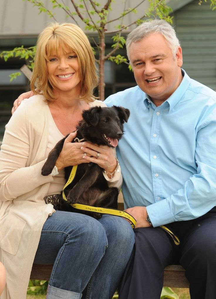 SO much love for Eamonn Holmes and Ruth Langsford for opting to Adopt the lovely Maggie from Dogs Trust at Harefield. Good for them for doing the right thing, love them