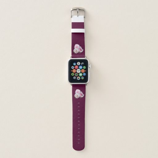 apple watch band Bunch of three beautiful light pink roses. Close up photography. You can choose a color of background. Gentle girly style. The best gift with love! customized, POD, buy, sale, gift ideas, zazzle, discount, gifts, shopping, most popular, trendy, cool, unique, stylish, gorgeous, photo, flowers, tenderness, bouquet, garden, nature, floral, custom, pretty, girly, feminine, burgundy #roses #nature #photography #unique #burgundy #applewatchband