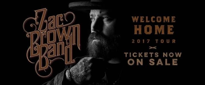 Tunespeak / Win 2 Tickets to see Zac Brown Band on the Welcome Home Tour